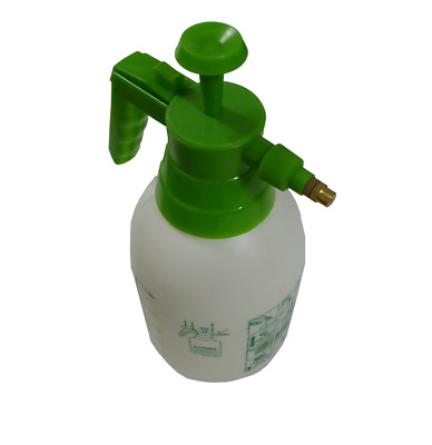 2 Litre PRESSURE SPRAYER HAND HELD BOTTLE Garden Water Plant Weed Control Flower • 5.49£