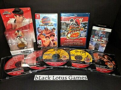 $103.37 • Buy Street Fighter 30th Anniversary Bundle Collection Switch 25th Soundtrack Amiibo