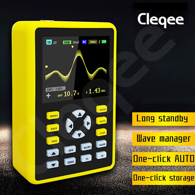 5012H Handheld Digital Oscilloscope IPS LCD Display DSO 2.4  100MHz 500MS/s • 63.89£