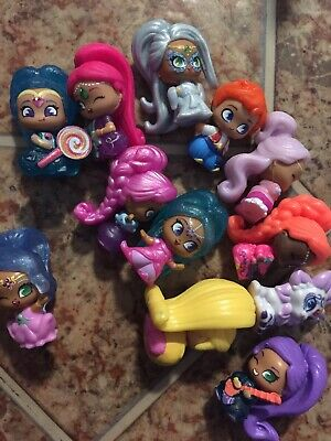 $ CDN10.83 • Buy Girl Toy Lot Shimmer And Shine Teenie Genies Collect Case W/ 11Genies And 1 Pet