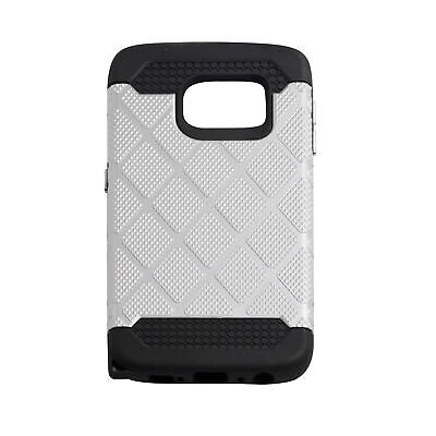 $ CDN10.26 • Buy Spotted Diamond Case Fits For Samsung Galaxy S6 Edge  - Silver