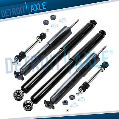 $87.25 • Buy Chevy Silverado GMC Sierra 1500 Shocks Absorbers Sway Bars For Front & Rear 2WD