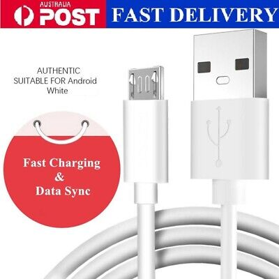 AU4.49 • Buy GENUINE Samsung Original Fast Charger Cable Lead Charging Cord For Galaxy S7 S6