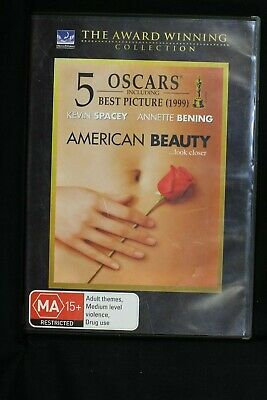 AU14.99 • Buy American Beauty -  Kevin Spacey Annette Bening -  R4 - Pre-owned (D465)