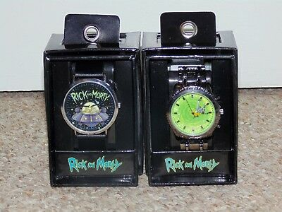 $ CDN39.99 • Buy Lot Of 2 Accutime Rick And Morty Wristwatches Spaceship & Portal Versions New