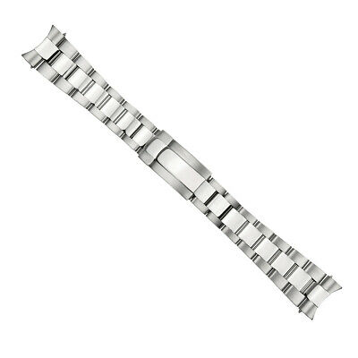$ CDN127.29 • Buy 21mm Oyster Watch Band For Rolex 41mm Datejust Ii 2 Stainless Steel Solid End