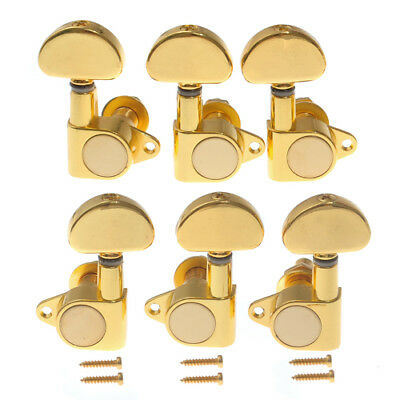 $16.99 • Buy Acoustic Electric Guitar Tuning Peg Tuners Machine Heads Gold Keys Pegs 3L3R