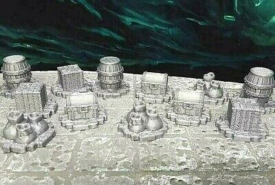 AU12.90 • Buy 12 Piece Lot Numbered Loot Treasures Markers Scatter Terrain Dungeons & Dragons