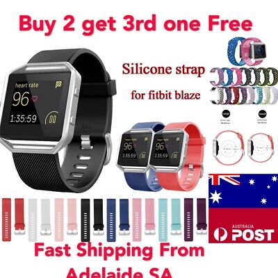 AU6.90 • Buy For Fitbit Blaze Replacement Band Wristband Watch Strap Bracelet Silicon Strap