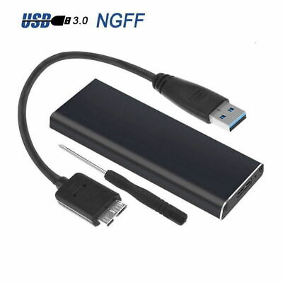 AU15.78 • Buy M.2 NGFF SSD SATA TO USB 3.0 External Enclosure Storage Case Adapter Aluminium