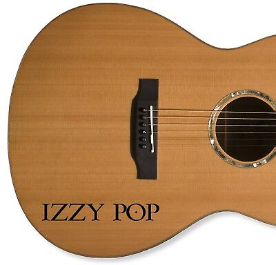 £2.10 • Buy 2 X PERSONALISED NAME / GUITAR / CASE /  VINYL STICKERS / DECALS