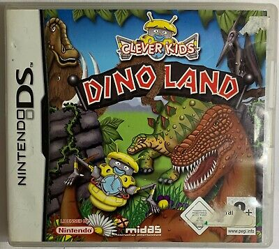 AU11.99 • Buy NDS - Clever Kids Dino Land Nintendo DS Manual | Aus Seller + FREE POST Cheap !