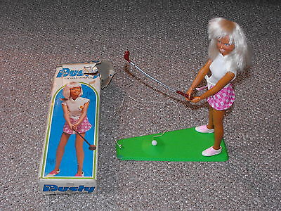 $32.81 • Buy 1974 Kenner 11.5  Dusty The Golf Champion Doll With Original Box