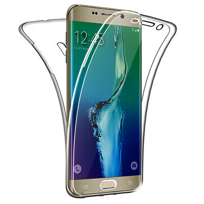 $ CDN8.69 • Buy Case For Samsung Galaxy S6 Edge Plus Full Body 360 Cover Silicone Front And Back