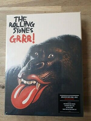 Rolling Stones - GRRR! Deluxe Edition 3 CD Box Set 1962-2012 Greatest Hits   • 130£