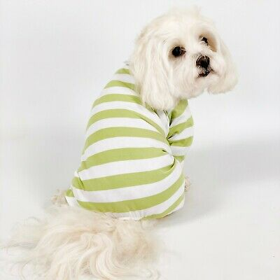 Dog Clothing PJs/Onsesie Striped XS/S 2 Colours Available • 23£