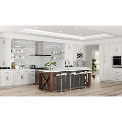 $2459 • Buy Lily Ann Cabinets 10x10 Wood Kitchen Cabinets Furniture RTA  -White Shaker Elite