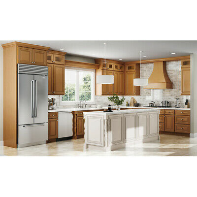 $2269 • Buy Lily Ann Cabinets 10x10 Wood Kitchen Cabinets Furniture RTA - Charleston Toffee