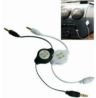 £1.90 • Buy 3.5mm Stereo Retractable Jack To Jack Car Audio Aux Cable For IPhone 5/6/6s IPod