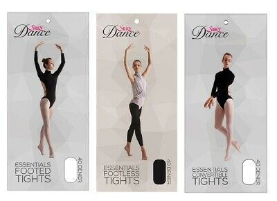 £4.50 • Buy Silky Essentials Footed, Footless & Convertible Ballet Dance Tights All Sizes