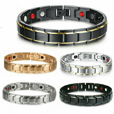 Therapeutic Energy Healing Copper Magnetic Bracelet Therapy Arthritis Men Women  • 6.99$