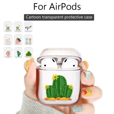 $ CDN12.57 • Buy Cute Carton Protective Case Cover Key Chain Pouch Skin For Airpods Earphones CA