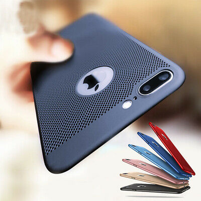 AU14.95 • Buy Ultra Thin Shockproof PC Mesh Hard Back Case Cover For IPhone XS Max XR 7 8 Plus