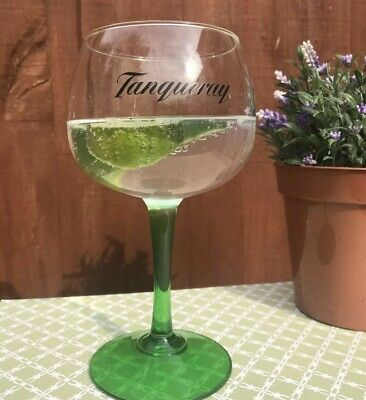 2 X Tanqueray Large Gin Balloon Glass Brand New Pub Man Cave Gift CE • 11.99£