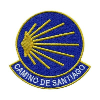 £3.04 • Buy St. James Way - Camino De Santiago Embroidered PATCH/BADGE