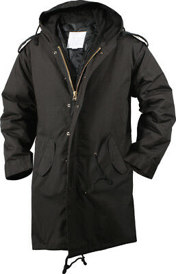$94.99 • Buy Black Military Cold Weather M-51 Fishtail Parka Jacket