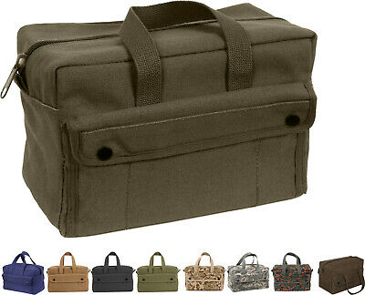 $15.99 • Buy Heavy Duty Canvas Tool Bag Carry Tote Supplies Mechanics Work Military Tactical