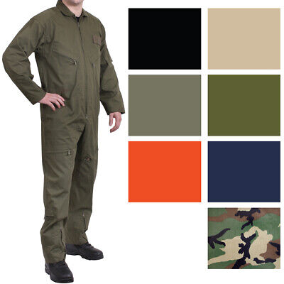 $55.99 • Buy Military Flight Suit Air Force Fighter Coveralls Army Camo Jumpsuit Overalls