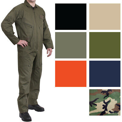 $53.99 • Buy Military Flight Suit Air Force Fighter Coveralls Army Camo Jumpsuit Overalls