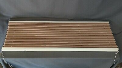 $38.95 • Buy 50  W X 24  L Pleated RV Window Night Shades Blinds Trailer Camper 50 X 24