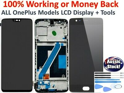 AU94.93 • Buy ONEPLUS One Plus 3 5 6 7 PRO LCD AMOLED DISPLAY TOUCH SCREEN DIGITIZER ASSEMBLY
