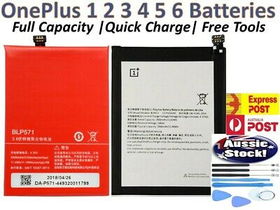 AU20.39 • Buy OEM OnePlus Replacements Battery For OnePlus 1 2 3 5 6 Ultra Li-ion + Tools AU