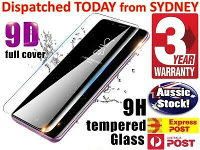 AU6.40 • Buy Samsung Galaxy S8 Plus S20 S10 S9 S7 Note20 Full Tempered Glass Screen Protector