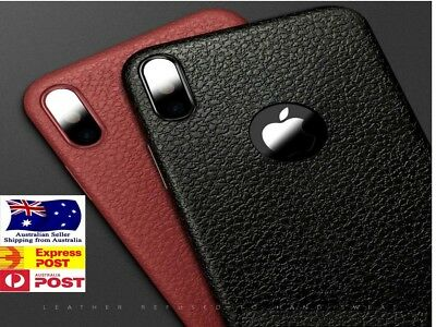 AU8.95 • Buy Real Slim Leather Case Slim Back Cover For Apple IPhone X XS Max XR 8 6 7 11 PRO