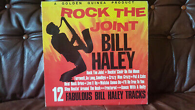Bill Haley And His Comets ‎– Rock The Joint (GGL0282) 1962 (LP) • 9.09£