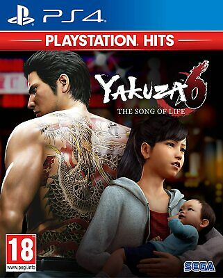 AU42 • Buy Yakuza 6: The Song Of Life Essence Of Art Edition PS4 Playstation 4 Brand New