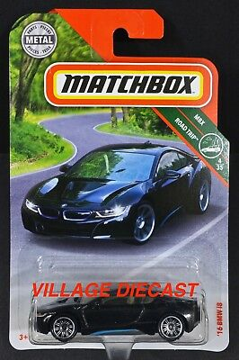 $2.49 • Buy 2018 Matchbox #4 '16 BMW I8 SOPHISTO GREY METALLIC / MOC