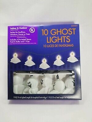 $ CDN11.38 • Buy Halloween Electric Ghosts String Lights With 10 Lights Halloween Decorations