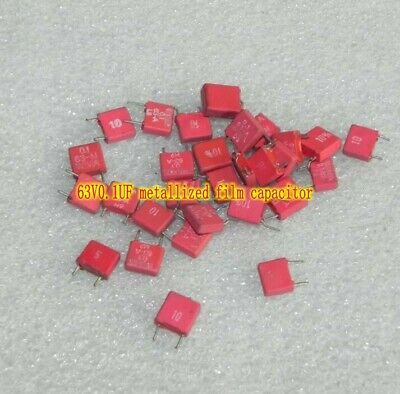 $2.97 • Buy 63V0.1UF 104 Metallized Film Capacitors Electronic Components