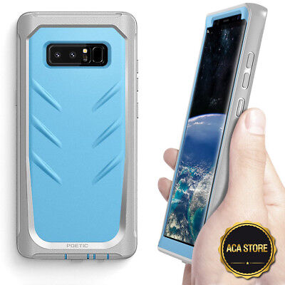 $ CDN15.17 • Buy Case For Samsung Galaxy Note 8 2017 Hybrid Shockproof Drop Protective Cover Blue