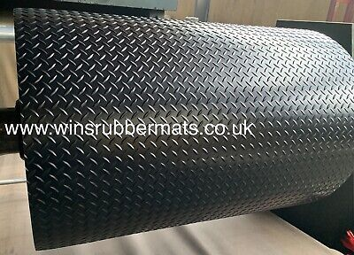 Rubber Flooring Mat Rolls 1m To 10m And 1.2m To 1.8m Wide X 3mm THICK All Floor • 19.99£