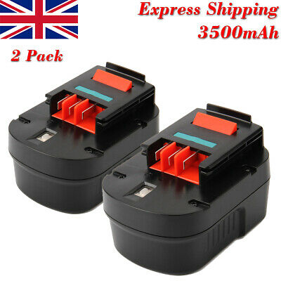 2Pcs 12V 3000mAh Ni-MH Battery For BLACK & DECKER A1712 FSB12 FS120BX A12 A12-XJ • 35.52£