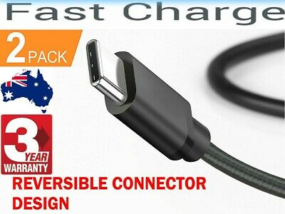 AU7.25 • Buy 2x GENUINE Samsung S9 Plus Note 10 Type C USB C Sync Charger Charging Fast Cable