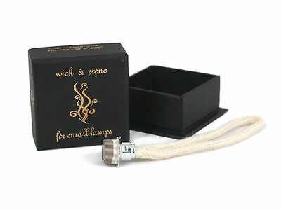 £7.85 • Buy Ashleigh & Burwood Fragrance Lamp Replacement Wicks Small Wick Stone Spare