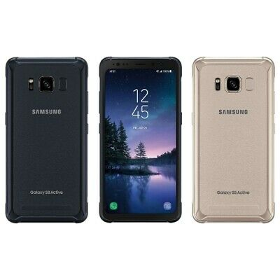 $ CDN140.37 • Buy Samsung Galaxy S8 Active G892A 64GB Gold Gray AT&T GSM Unlocked High Image Burn