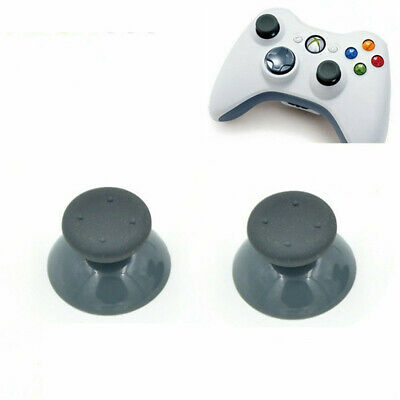 $2.59 • Buy 4 X Replacement Xbox 360 Controller Analog Thumbsticks Thumb Grip Stick Cap GREY